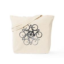 Bicycle circle Tote Bag