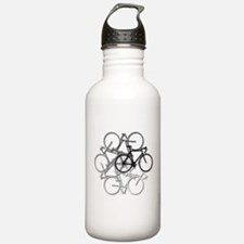 Bicycle circle Water Bottle