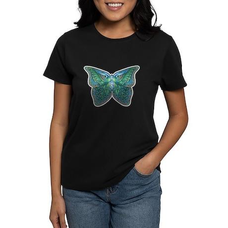 Peacock Butterfly Women's Dark T-Shirt