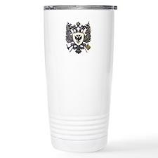 Doucette Family Crest Travel Mug