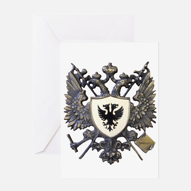 Doucette Family Crest Greeting Card