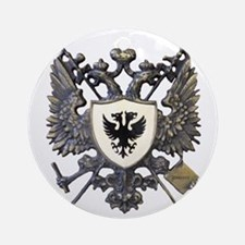 Doucette Family Crest Ornament (Round)