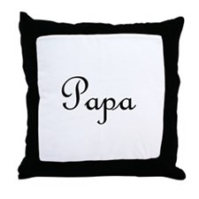 Papa.png Throw Pillow