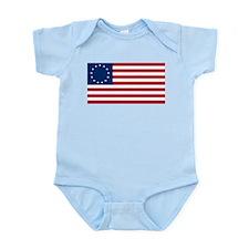USA Betsy Ross Flag Shop  Infant Creeper