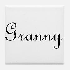 Granny.png Tile Coaster