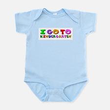 I go to kindergarten Infant Creeper