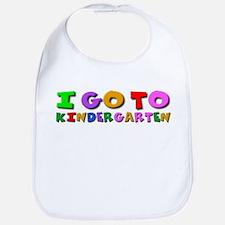 I go to kindergarten Bib