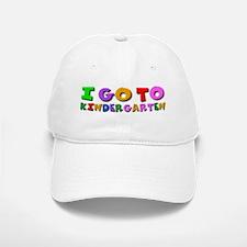 I go to kindergarten Baseball Baseball Cap