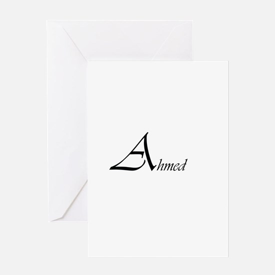 Ahmed.png Greeting Card