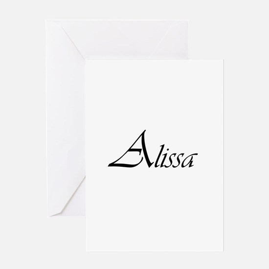 Alissa.png Greeting Card