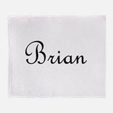 Brian.png Throw Blanket