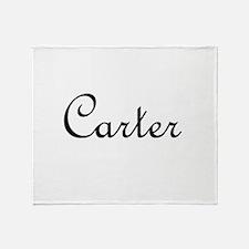 Carter.png Throw Blanket