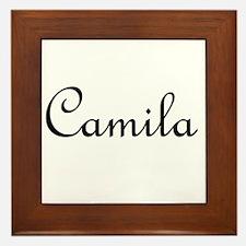 Camila.png Framed Tile