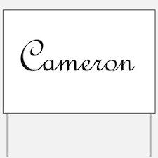 Cameron.png Yard Sign