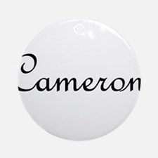 Cameron.png Ornament (Round)
