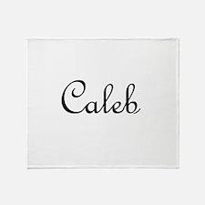 Caleb.png Throw Blanket