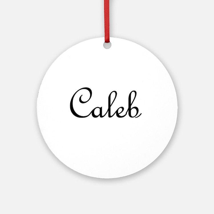 Caleb.png Ornament (Round)