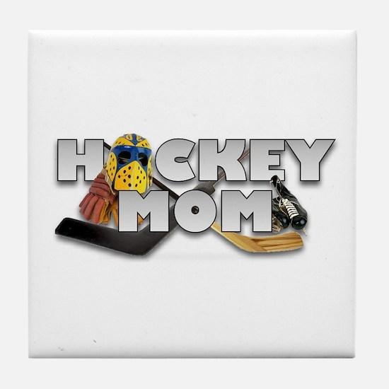 Hockey Mom Tile Coaster