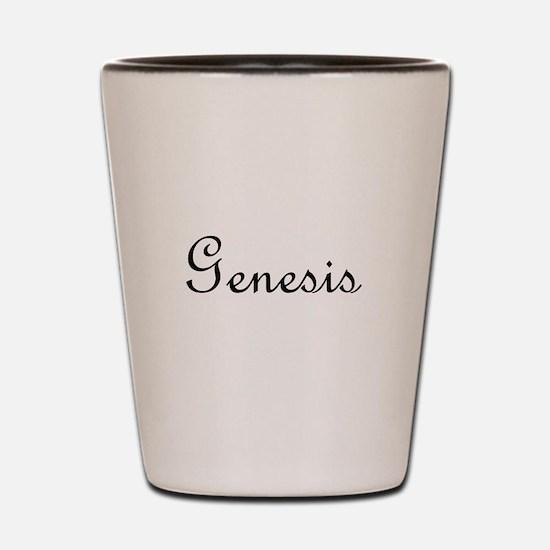 Genesis.png Shot Glass