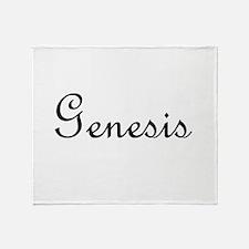 Genesis.png Throw Blanket