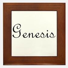 Genesis.png Framed Tile