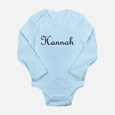 Hannah.png Onesie Romper Suit
