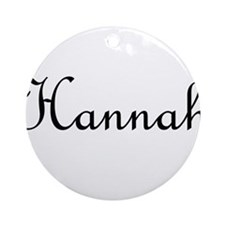 Hannah.png Ornament (Round)