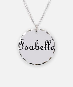Isabella.png Necklace Circle Charm