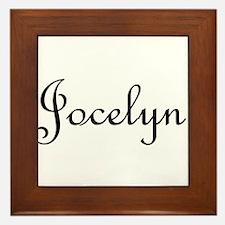 Jocelyn.png Framed Tile