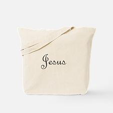 Jesus.png Tote Bag