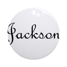 Jackson.png Ornament (Round)