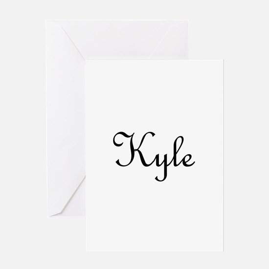 Kyle.png Greeting Card