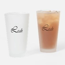 Leah.png Drinking Glass