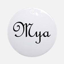 Mya.png Ornament (Round)