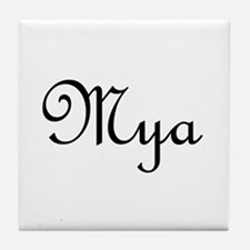 Mya.png Tile Coaster