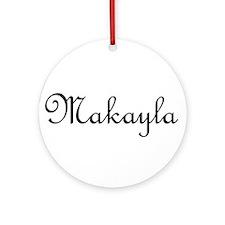Makayla.png Ornament (Round)