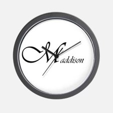Maddison.png Wall Clock