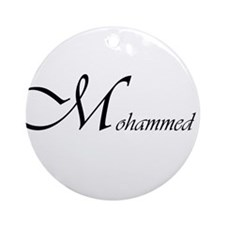 Mohammed.png Ornament (Round)