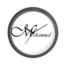 Mohammed.png Wall Clock