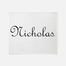 Nicholas.png Throw Blanket