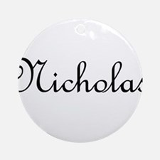 Nicholas.png Ornament (Round)