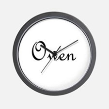 Owen.png Wall Clock