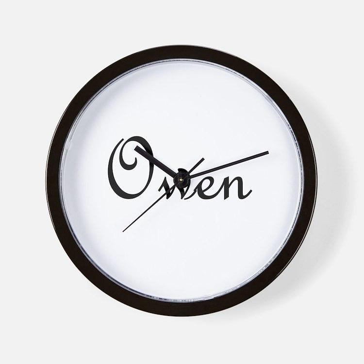 Owen.png Wall Clock