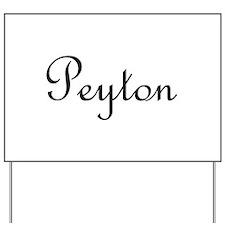 Peyton.png Yard Sign