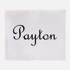 Payton.png Throw Blanket