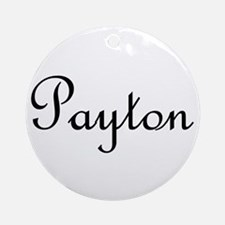 Payton.png Ornament (Round)