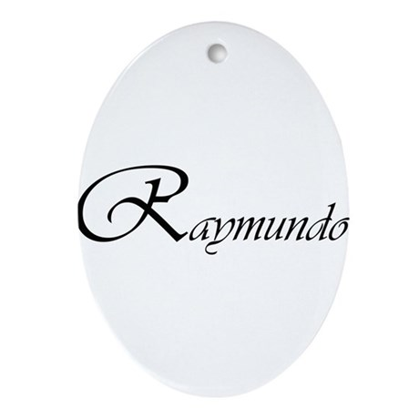 Raymundo.png Ornament (Oval)