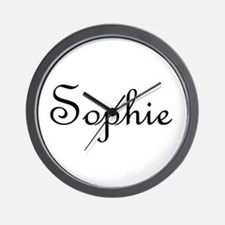Sophie.png Wall Clock