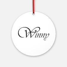 Winny.png Ornament (Round)