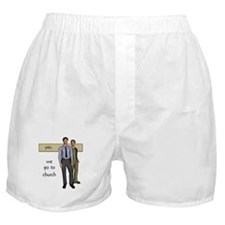 Gay Christian Boxer Shorts